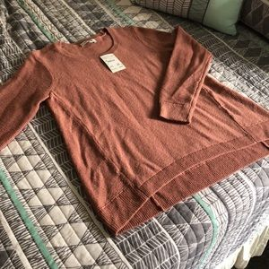 Madewell sweater, size small